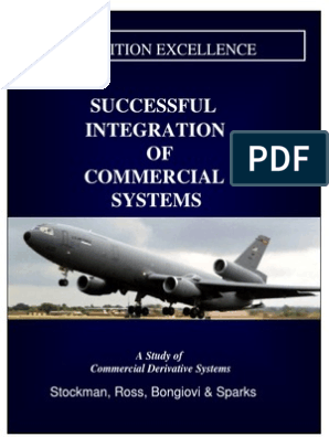Successful Integration of Commercial Systems a Study of ... on