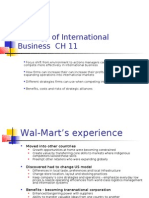 Strategy of International Business CH 11