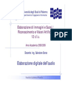 EIS0809 10 Elaborazione Digitale Audio