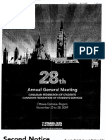 Canadian Federation of Students Agm November 2009 Agenda