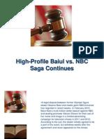 High-Profile Baiul vs. NBC Saga Continues