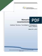 Manual Usuario - Levantamiento Datos 2011 y 2012 Institutos Definitivo 1