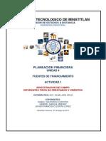 Planeacion Financiera u4 Act1 Equipo Isabel Javier Gabriel