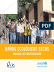 Banos Ecologicos Secos Manual de Construccion
