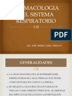 Farmacologia Del Sistema Respiratorio Alumnas