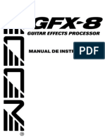 Zoom Gfx-8 Manual en Español