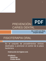 4. Prevención de La Caries Dental