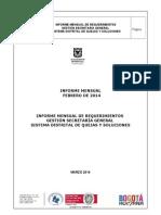 Formato Informe Secretaria General Febrero 2014