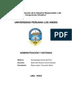 Actividad IV - Antropología