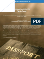 National and Civil ID Report