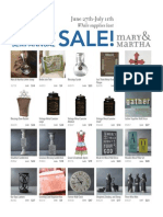 Mary & Martha Semi-Annual Sale June2014