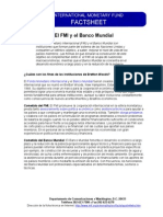 El FMI y el BM