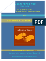DUBLIN PEACE POD LAUNCH EVENT WED. JULY 2, 2014