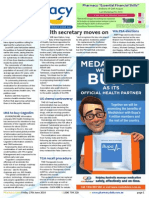 Pharmacy Daily for Fri 27 Jun 2014 - Health secretary moves on, MedAdvisor-Bupa deal, Action on indications urged, Events Calendar and much more