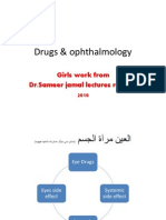 Drugs & Ophthalmology Cc