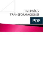 Energía y Transformaciones