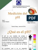 Medicion Del Ph y Humedad