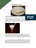 Como Hacer Leche de Soja en Casa