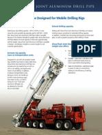 Alcoa Aluminium Drill Pipe