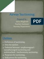 Airway Suctioning