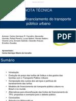 Nota Tecnica_financiamento Transporte Publico