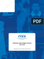 FIVB Volleyball Rules 2013-2016