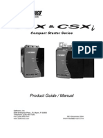 PARTIDOR SUAVE - CSX Series Product Guide Manual