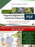 03 Programa Regional de Apoyo Al Control de La Roya