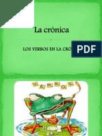 LOS+VERBOS+EN+LA+CRONICA