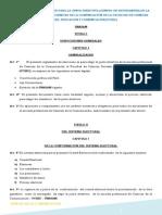 Reglamento de Elecciones Para La Junta Directiva