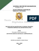 Tesis Metodologia de Gestión de La Pequeña Empresa