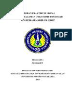 Laporan Praktikum Keanekaragaman Organisme dan Dasar Klasifikasi Makhluk Hidup.docx