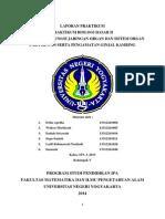 Laporan Praktikum Struktur dan Fungsi Jaringan Organ dan Sistem Organ pada Hewan Serta Pengamatan Ginjal Kambing.docx