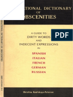 International Dictionary Obscenities 81