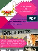 Diapositovas Yiran Hombre de Lauricocha