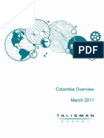 11 03 Talisman Colombia Overview Presentation Web