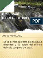 SISTEMAS HIDROGEOMETRICOS