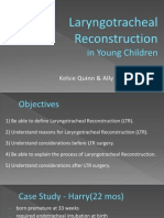 laryngotracheal reconstruction presentation