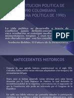 CONSTITUCION POLITICA DE 1990 COLOMBIANA.pptx