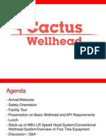 Cactus Wellhead Presentation