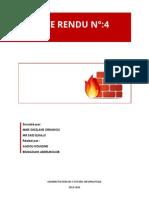 Compte Rendu firewall