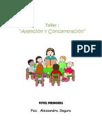 Taller de Atención y Concentración