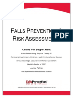 Falls Prevention Risk Assessments