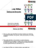 Indices de Miller Formato Inacap.ppt