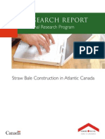 Straw Bale Construction in Atlantic Canada