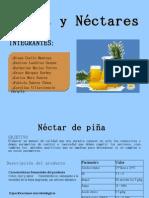 Presentación nectar de piña