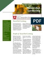 Straw Bale Raised Bed Gardening ~ Utah