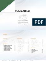 Samsung LED UA22ES5000 Manual