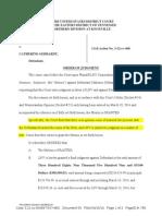 Gebhardt Doc 59, Final Judgment