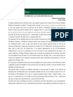 Analisis Legal Semanal No. 94 Nulidades Procesales